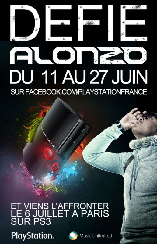 DEFIE ALONZO SUR PLAYSTATION 3 .ıllılı. Facebook Fan Officiel .ıllılı. Twitter Officiel .ıllılı.