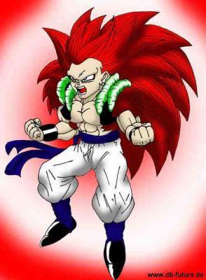Dragon Ball Z Gotenks Ssj6