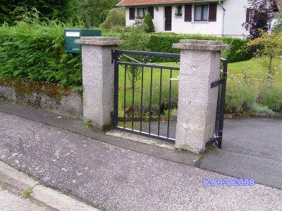 Porte ext rieur en fer forg blog de danielvax for Porte fer forge exterieur